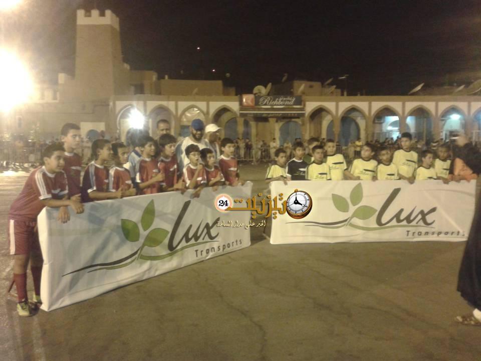لوكس ترانسبور تحتضن دوري المرحوم كوسعيد لكرة القدم المصغرة