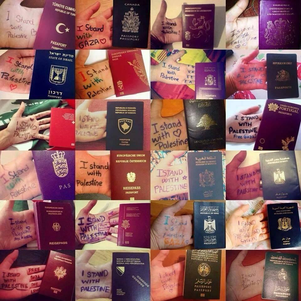 تضامنا مع سكان غزة