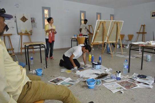 اختتام فعاليات الدورة الثانية لموسم الدشيرة للفنون التشكيلية