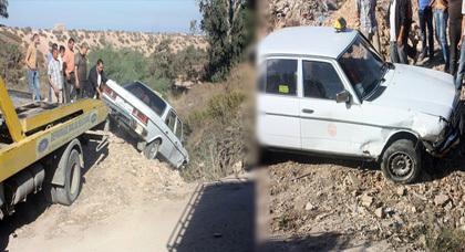 ثلاثة جرحى في حادث سير عند وادي إصوح بتيزنيت