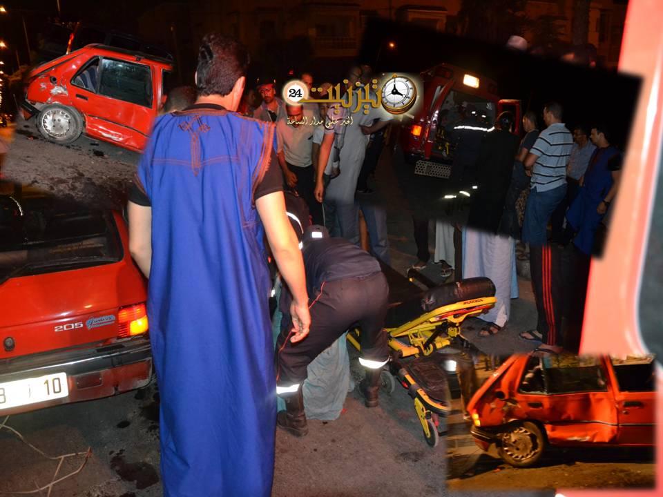 إصابة امرأتين في حادث سير جديد داخل المدار الحضري لتيزنيت