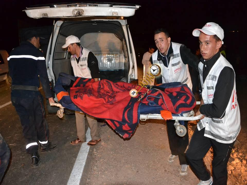 حادث مروع يودي بحياة شخص ويحول جثته إلى أشلاء بين تيزنيت واكادير