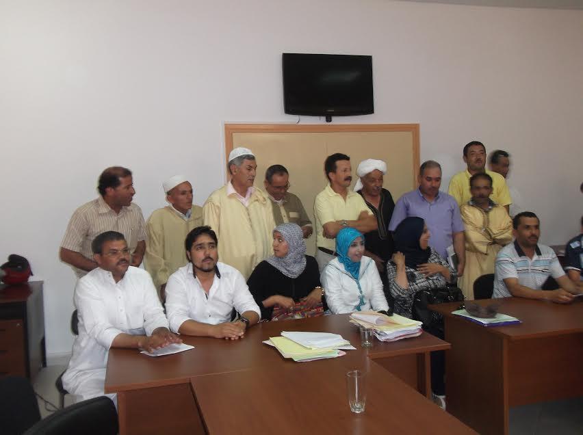 الجمعية الإقليمية لذوي الحقوق ومستغلي الأركان بتيزنيتتعقد جمعها العادي