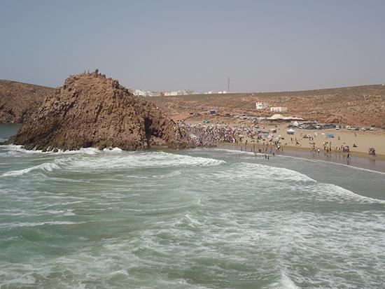 غرق شاب ينحدر من جماعة الساحل بشاطئ سيدي محمد بن عبد الله بمير اللفت