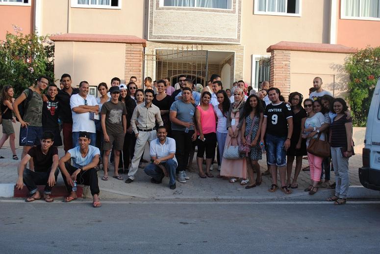 زيارة شباب مغاربة العالم لمدينة تيزنيت
