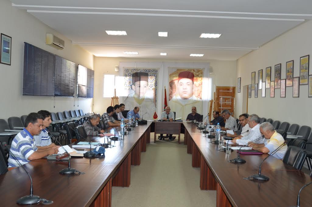 اللجنة الجهوية لفض النزاعات تتدارس طعون الحركة الجهوية لسنة 2014 بجهة سوس