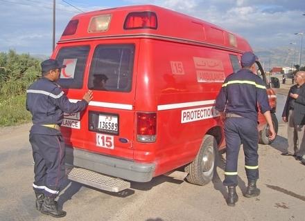 حادثة شغل وتأخر الاسعاف يسببان في وفاة عامل باقليم سيدي افني