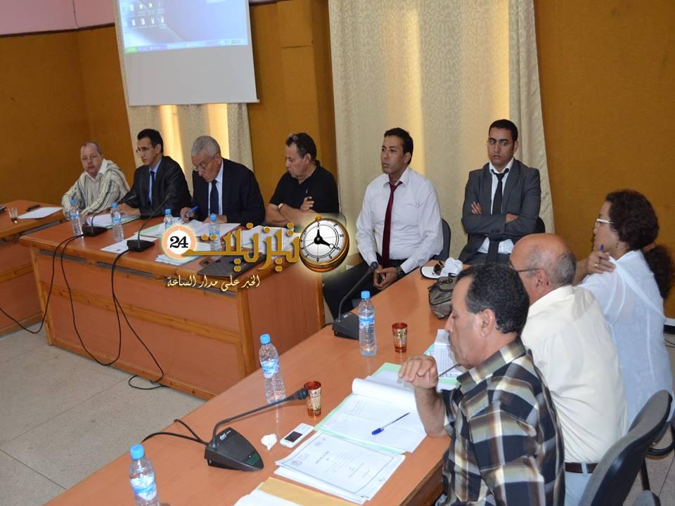بلدية تيزنيت تشارك في لقاء حول تعزيز الإفتحاص الداخلي في الجماعات المحلية
