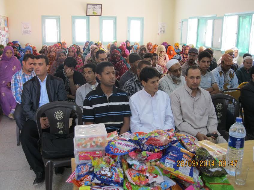 جمعية تيفاوين بسيدي إفني توزع 75 أضحية على اليتامى المتمدرسين بتيوغزة