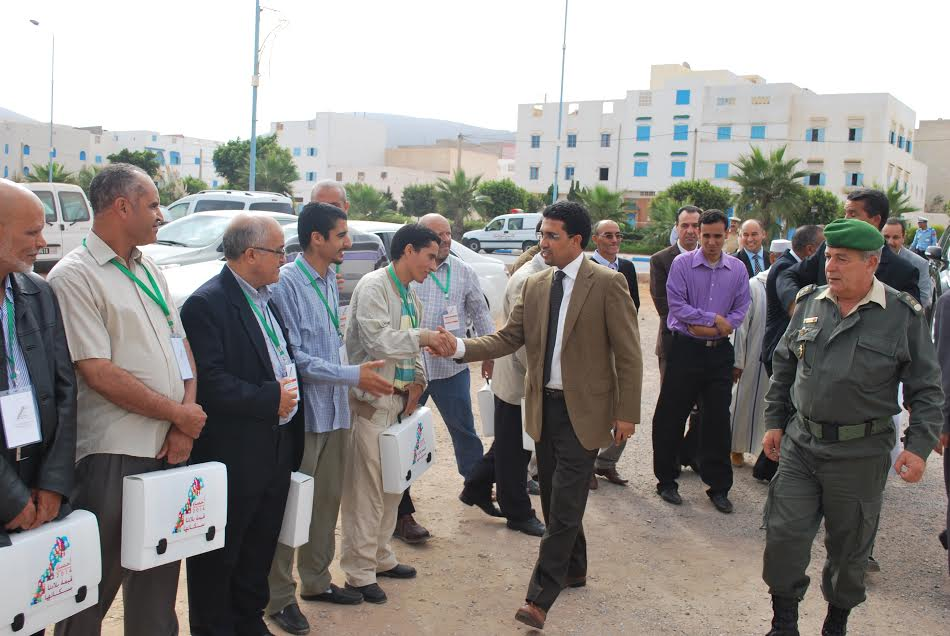 عامل سيدي إفني يشرف على إعطاء الانطلاقة الرسمية لعملية الاحصاء العام للسكان والسكنى