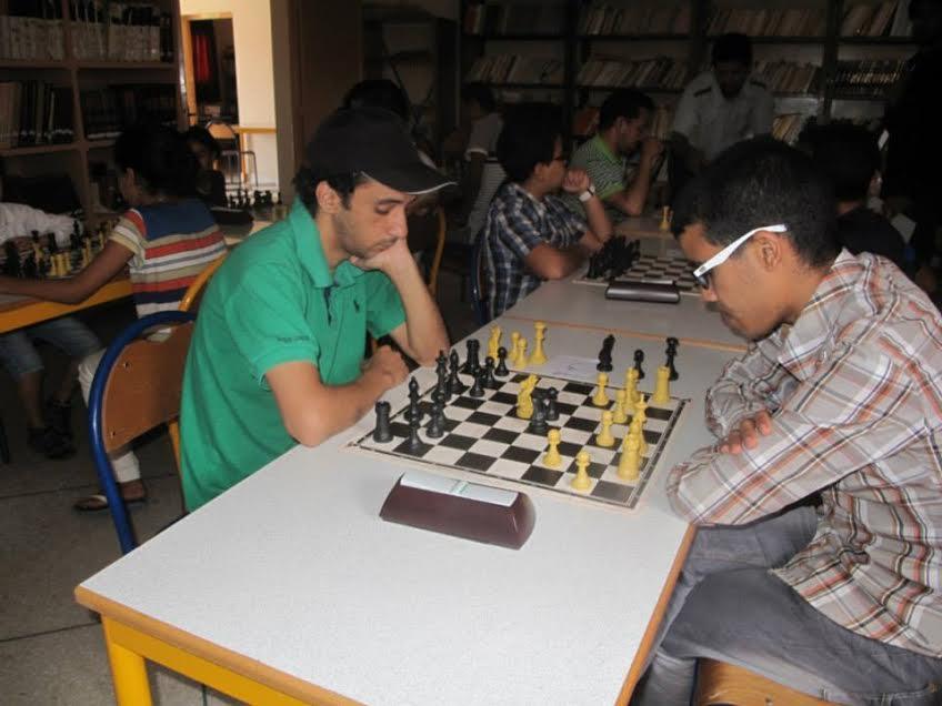 عبد الله الباز بطلا للدوري المحلي للشطرنج بتيزنيت
