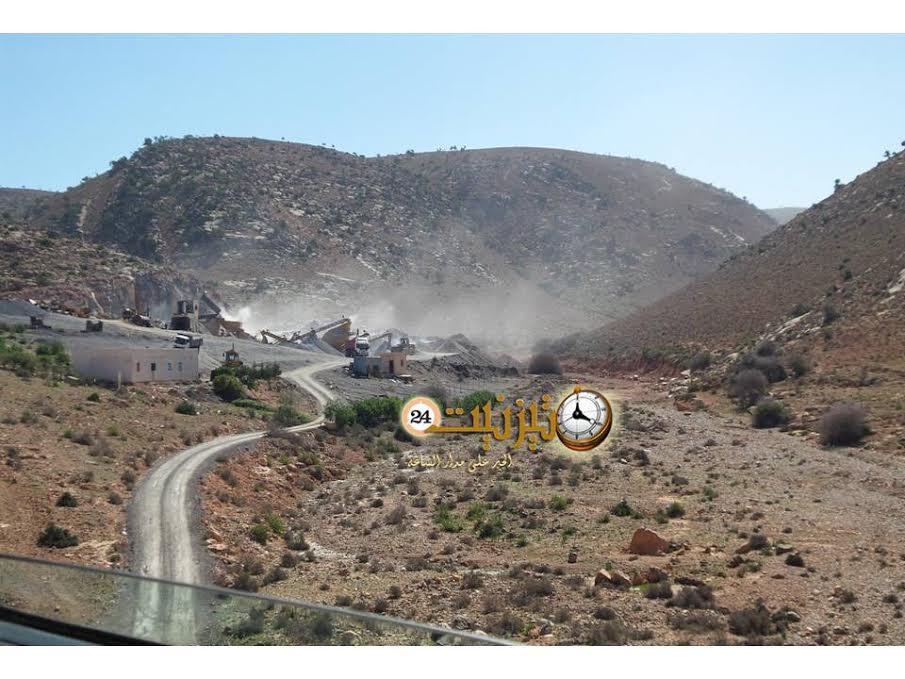 لجنة مختلطة تزور مقلع أولاد جرار بعد أيام من التفجيرات الأخيرة