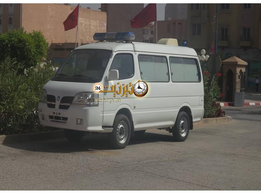 استعدادا لفتح مقبرة الرحمة … بلدية تيزنيت تتوصل بسيارة لنقل الأموات