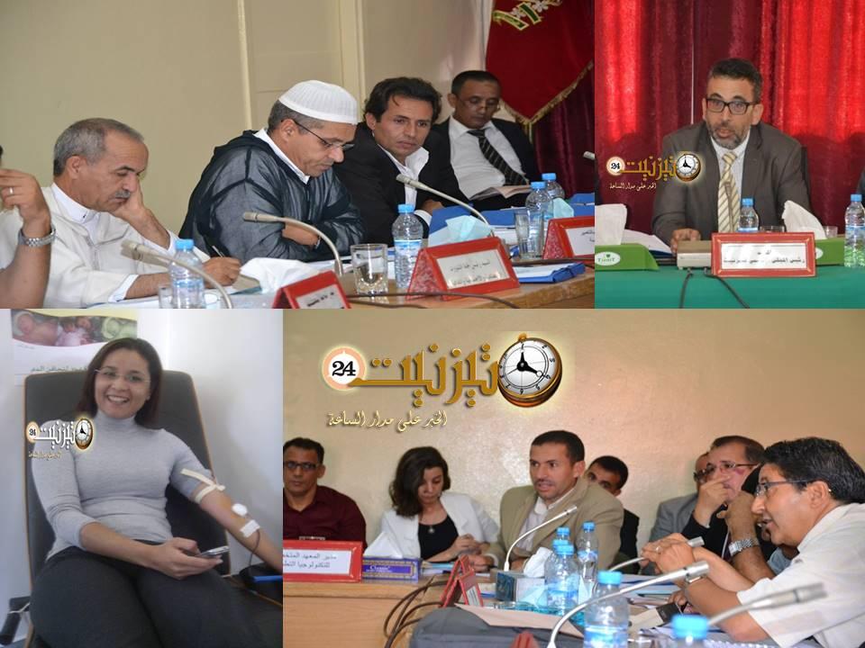 المجلس الإقليمي لتيزنيت … رفقا بالقوارير