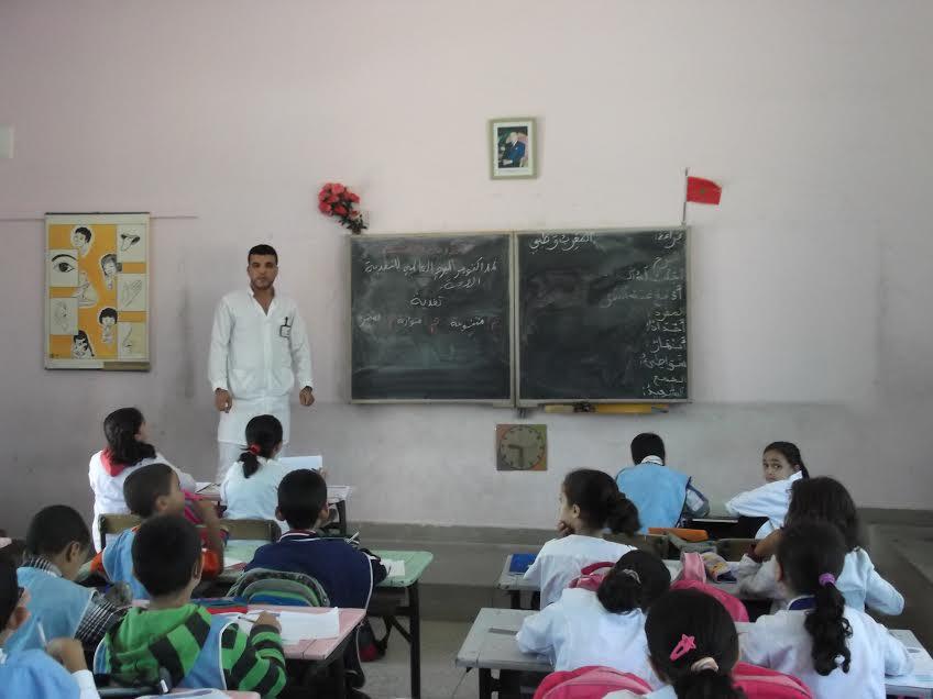 وفد طبي يحل بمدرسة الحسن الأول بمناسبة اليوم العالمي للتغذية