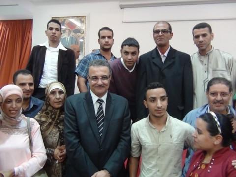 عامل إقليم تارودانت ينظم حفل على شرف المشاركين في الإحصاء العام للسكان والسكنى