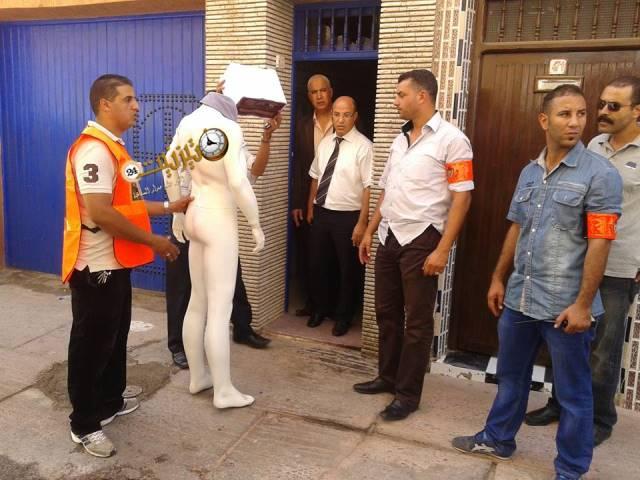 """إعادة تمثيل جريمة قتل الشاب """"نور الدين"""" بقصبة تافوكت بتيزنيت / مرفق بالصور"""