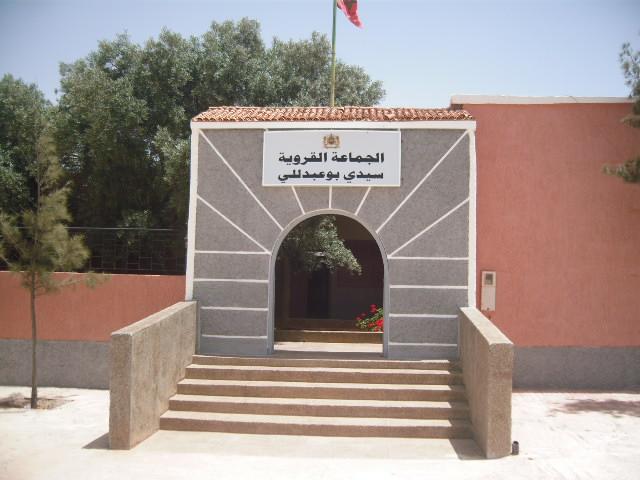 سيدي بوعبداللي …مقطع طرقي خطير