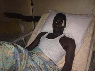 نجم حسنية أكادير زومانا كوني يخضع لعملية جراحية