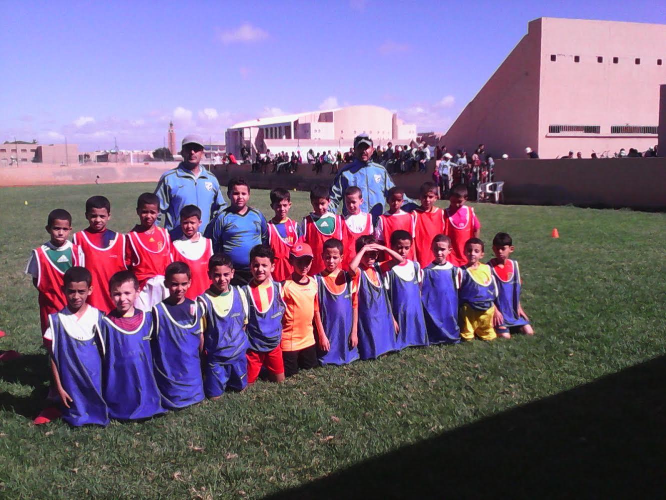 روبورتاج مصور عن مدرسة امل تيزنيت لكرة القدم