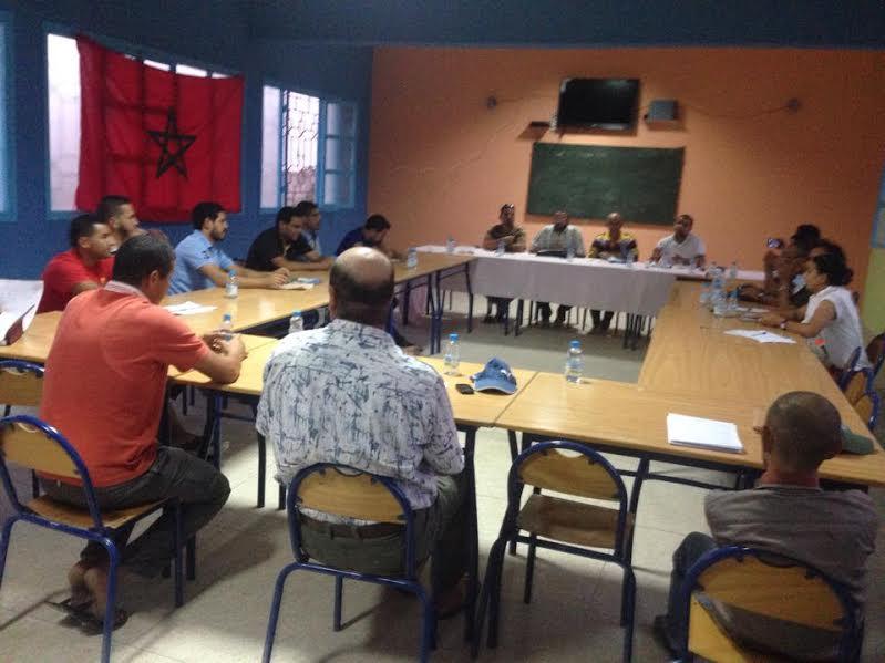 تجديد مكتب جمعية ألعاب القوى بمير اللفت بحضور أعضاء من عصبة سوس ماسة درعة