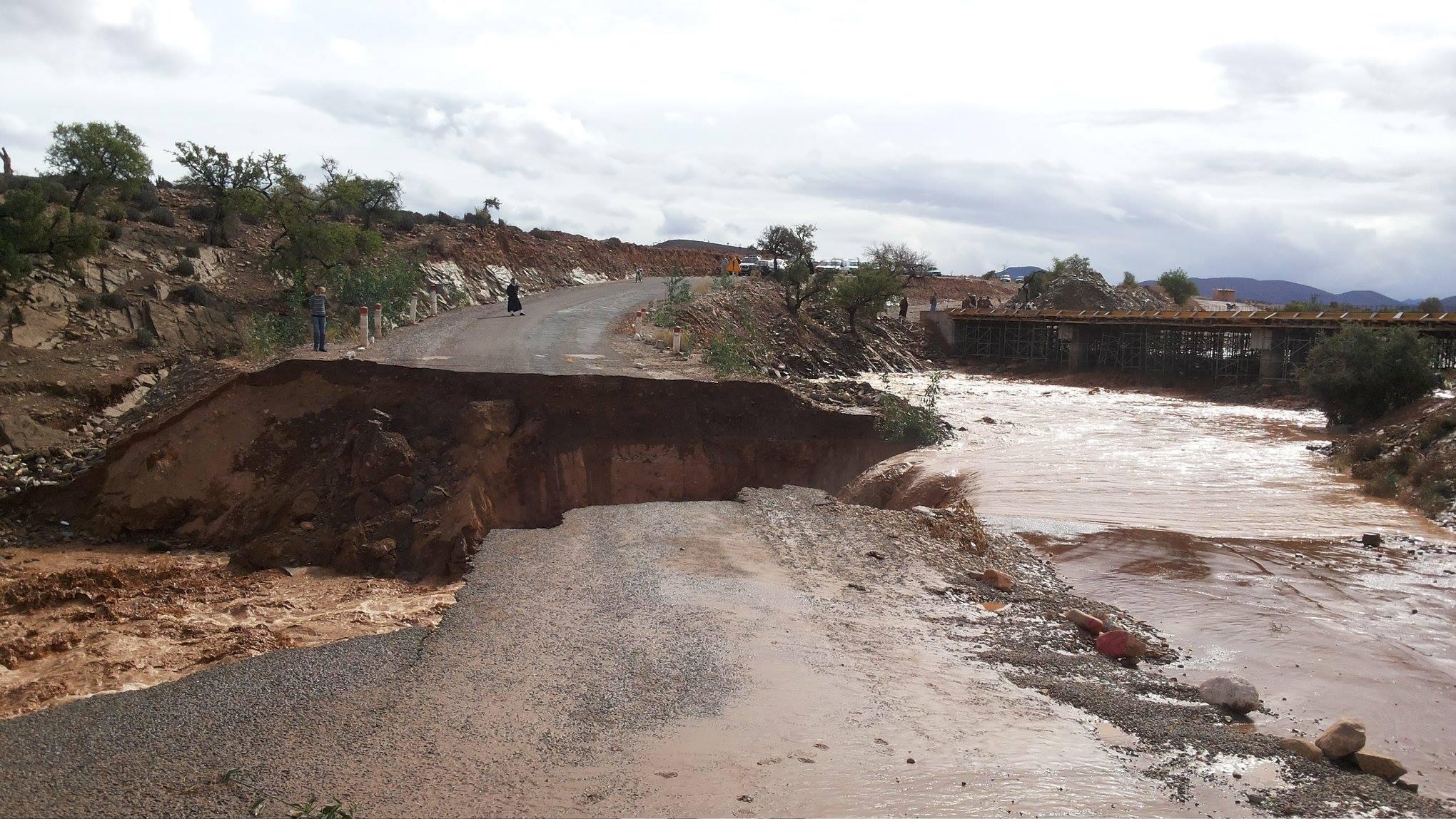 قافلة تضامنية مع متضرري الفيضانات لجمعية شباب سوسللتنمية الاجتماعية و الثقافية و الرياضيةبأكادير