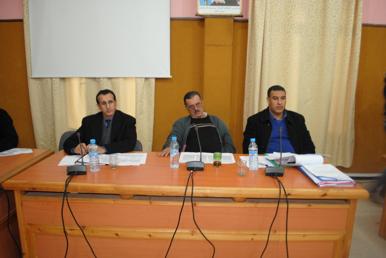 جدول أعمال الدورة العادية للمجلس البلدي لمدينة تيزنيت لشهر فبراير2015