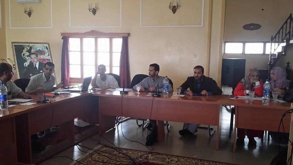 بلاغ المجلس الإقليمي لحزب العدالة والتنمية بسيدي إفني