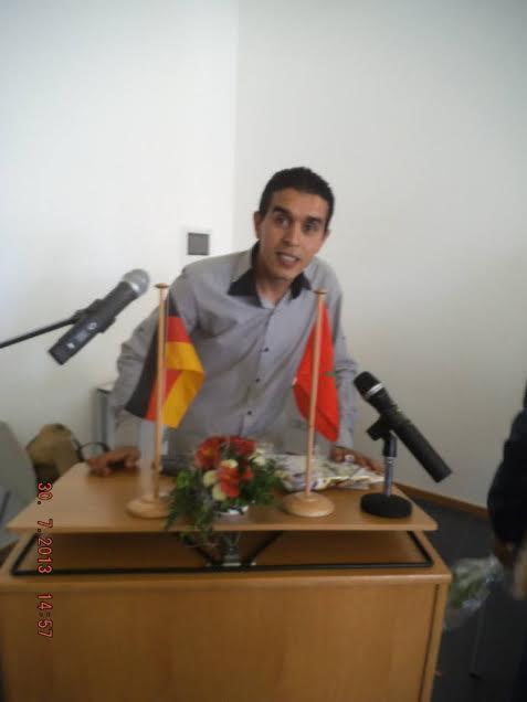 محمد هروش بسيدي إفني مدرب متخصص في ألعاب القوى ينتظر الإنصاف