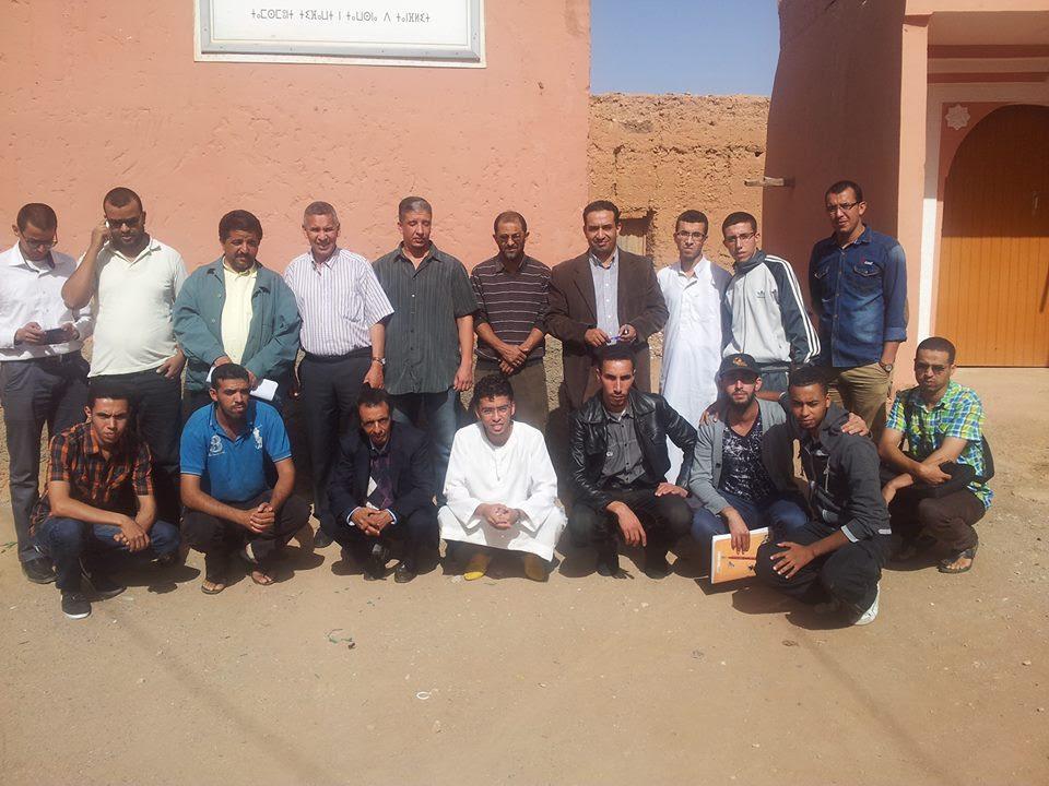 تأسيس فرع العصبة المغربية للتربية الأساسية ومحاربة الأمية بجماعة أكلو إقليم تزنيت