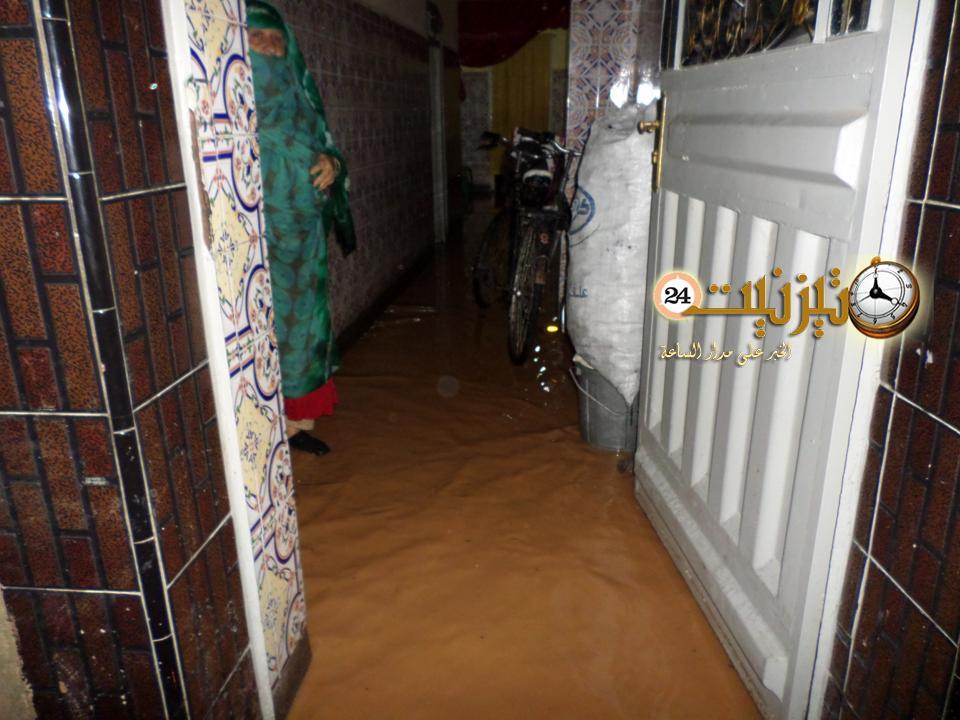 صور فيضانات تيزنيت