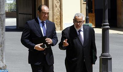 أوزين يظهر بالمجلس الحكومي