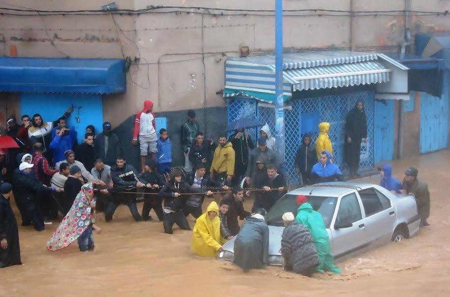 فيضانات تيزنيت:  هبة الرحمان تفضح خروقات بني الإنسان