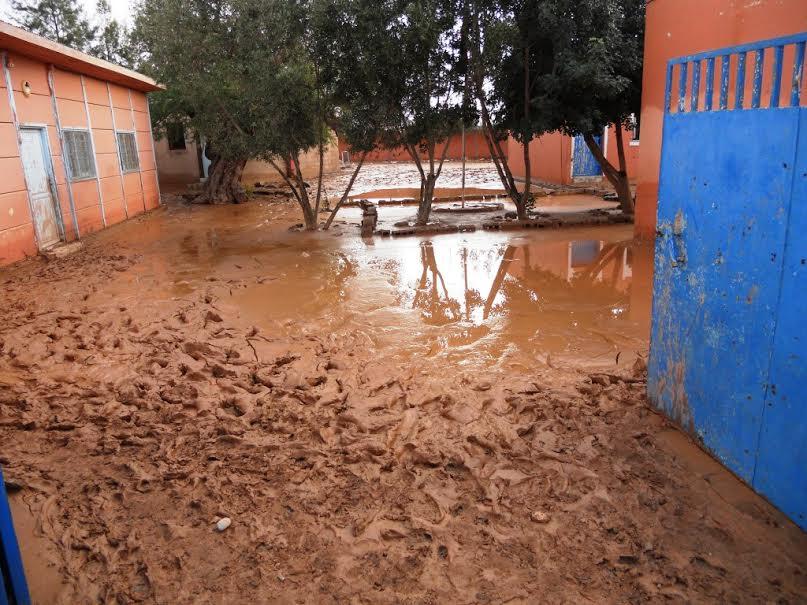 زيارات ميدانية للمؤسسات المتضررة من الفيضانات بنيابة انزكان ايت ملول