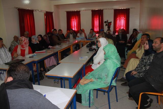 ورشة تقيمية لمشاريع مخطط المغرب الأخضر بتيزنيت من طرف الشبيبة التجمعية
