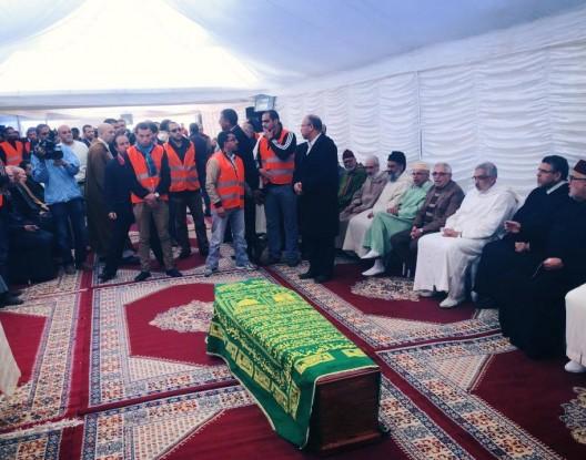 لجنة تنظيمية من 200 شخص من أعضاء شبيبة PJD يشرفون على جنازة باها