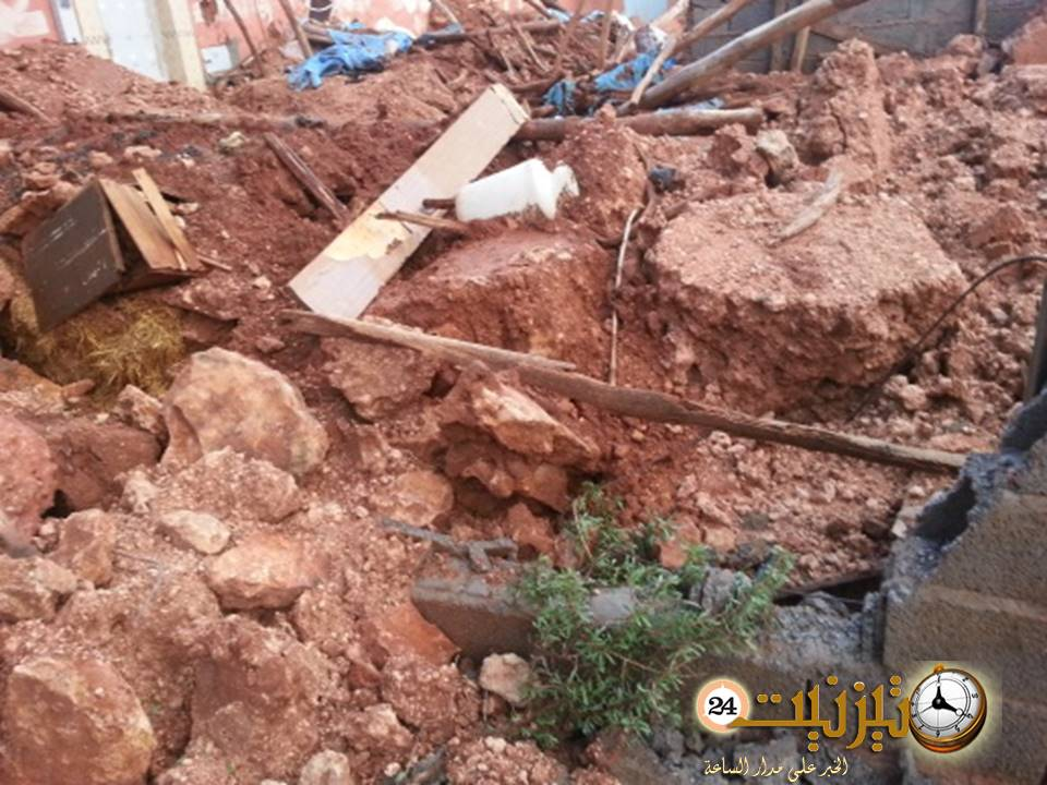 بونعمان: دوار إكرامن يحصي خسائره بعد الفيضانات