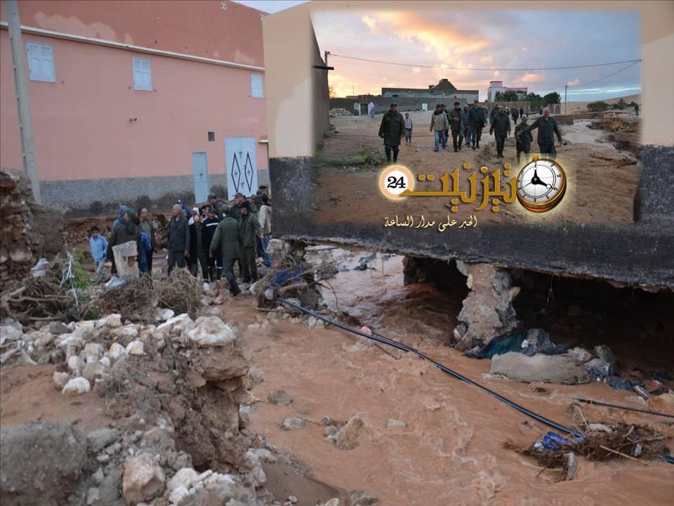 العدالة والتنمية بتيزنيت : ضرورة إعلان إقليم تيزنيت إقليما منكوبا بسبب الفيضانات والمياه الجارفة