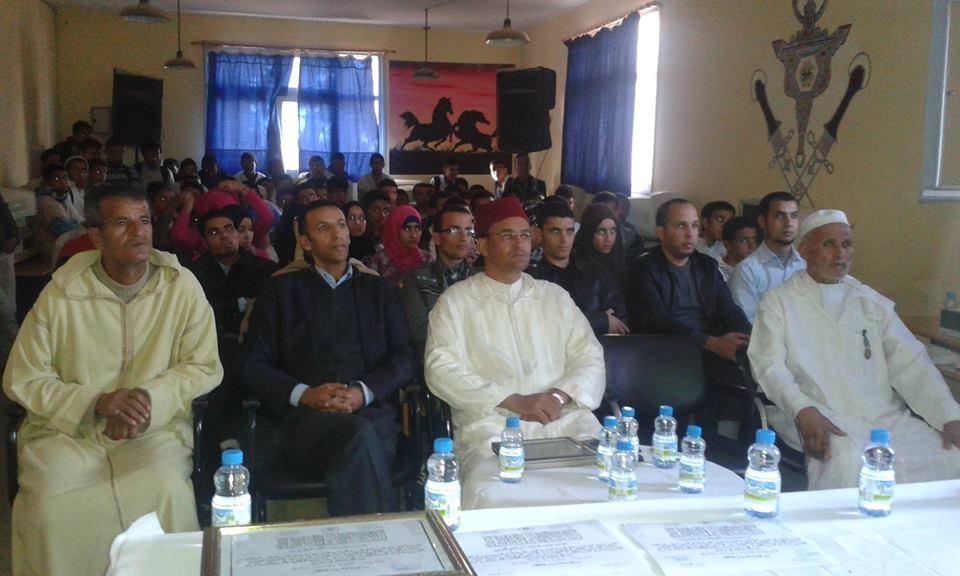 ثانوية محمد الجزولي بانزي تستحضر الأمجاد الوطنية في أمسية ثقافية
