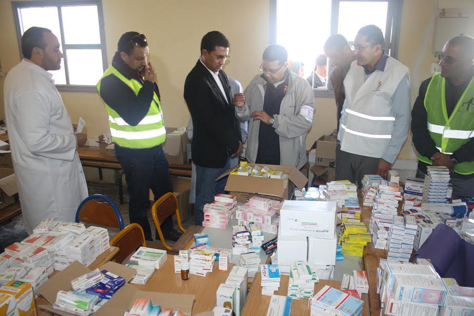 حملة طبية متعددة الاختصاصاتبسيدي إفني