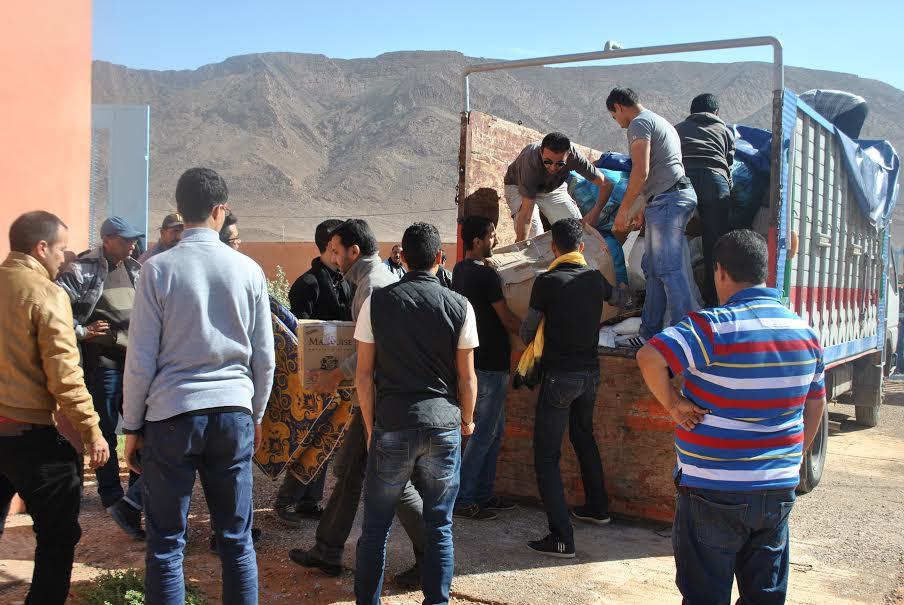جمعية اصدقاء اليتيم تنظم حملة طبية وتوزع مساعدات على اليتامى و الارامل بإقليم سيدي افني