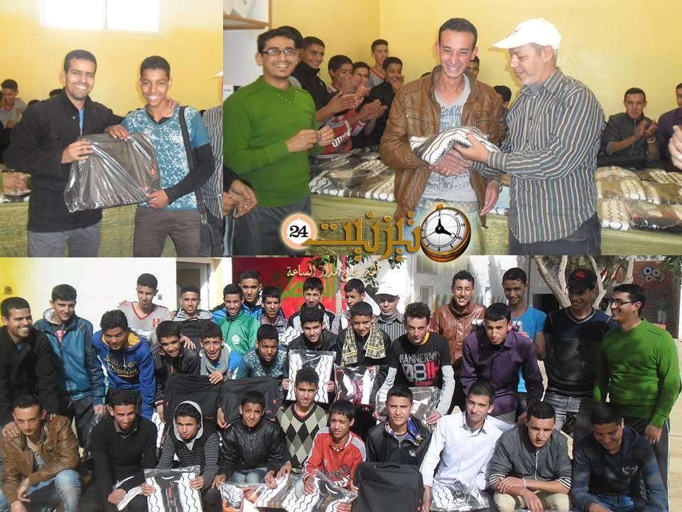 توزيع ملابس ومحافظ على مستفيدي دارالطالب – بونعمان