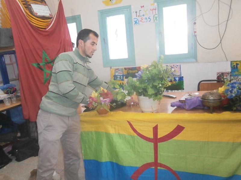 الثانوية الإعدادية تيوغزة تحتفل بالسنة الأمازيغية الجديدة