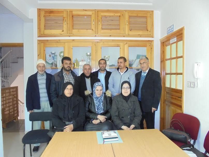 أطر التعاون الوطني بتيزنيت يناقشون إمكانية تقديم طلبات دعم مشاريع الزيارات التبادلية والتكوينات
