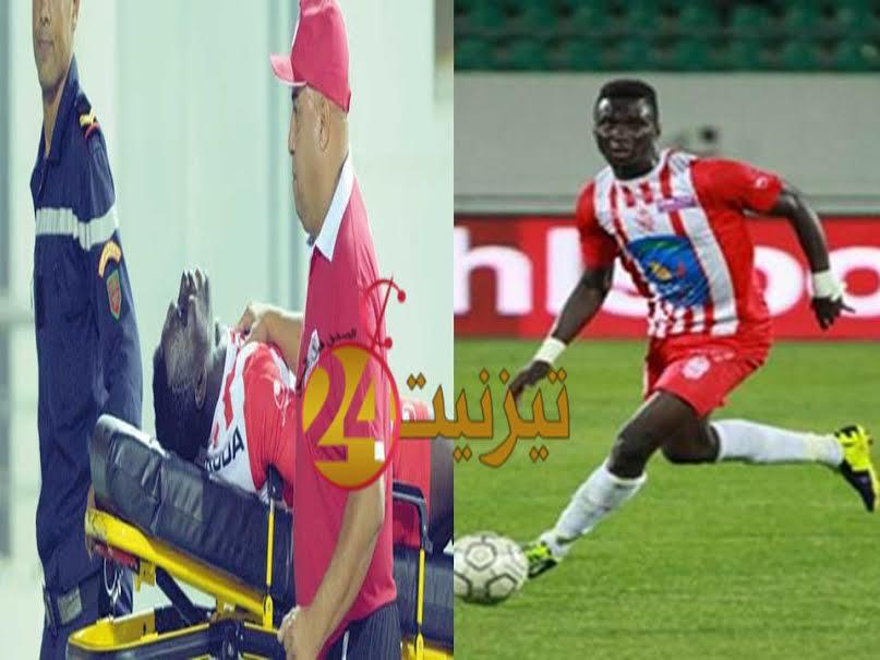 الرجاء البيضاوي يصرف النظر عن التعاقد مع نجم حسنية أكادير زومانا كوني لأسباب صحية