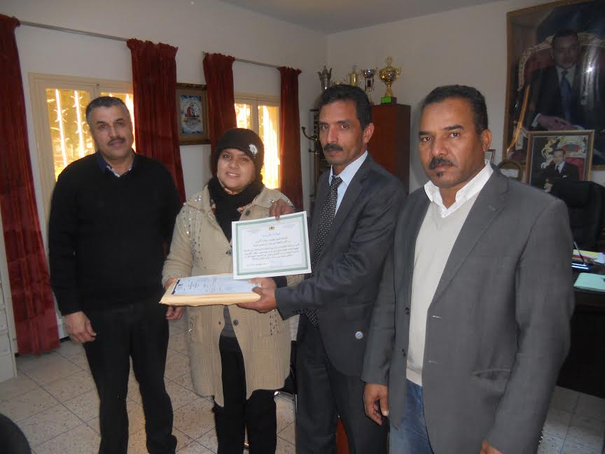 تكريم يامنة كعزيز الفائزة بالجائزة الجهوية لإعلام الطفل