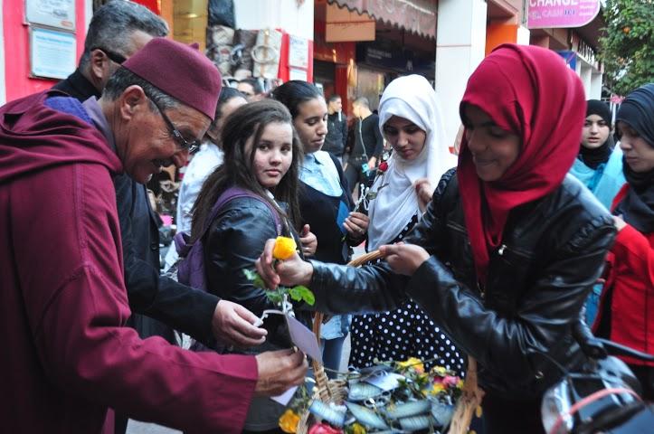 شباب مراكشي يطلقون حملة : من هو محمد ؟