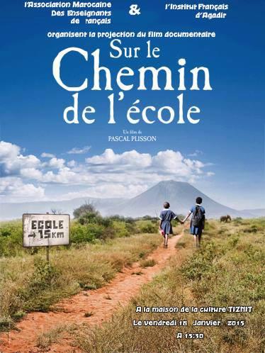 جمعية مدرسي اللغة الفرنسية تعرض فيلما تربويا بتيزنيت