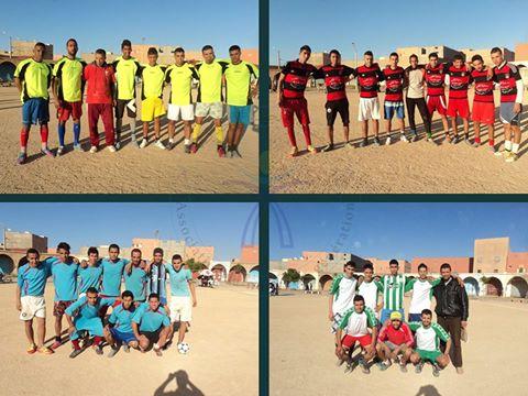 أولاد جرار : اليوم الإفتتاحي لدوري جمعية الجيل الجديد لكرة القدم المصغرة