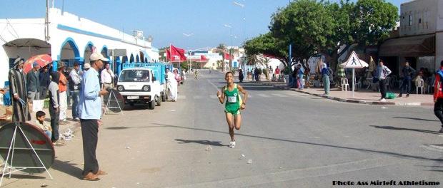 تألق البطل الواعد ابن مير اللفت حمزة العراضي وتأهله للبطولة الدولية للعدو الريفي المقامة بتونس
